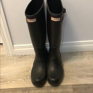 Hunter Original Tall Boot Size 7